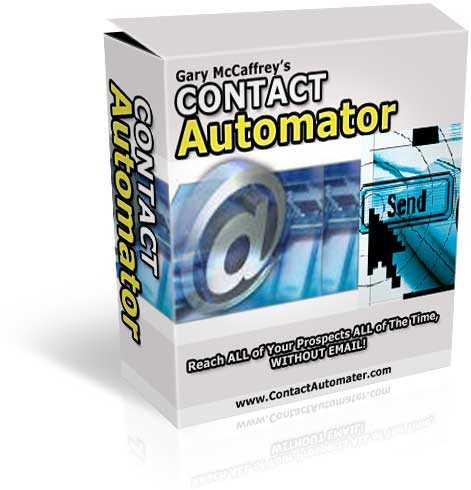 Product picture CONTACT Automater, Reach All of Your Prospect All of The Time, Without Email  !  With MRR RIGHTS