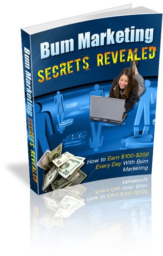 Product picture Bum Marketing Secrets Revealed! MRR License