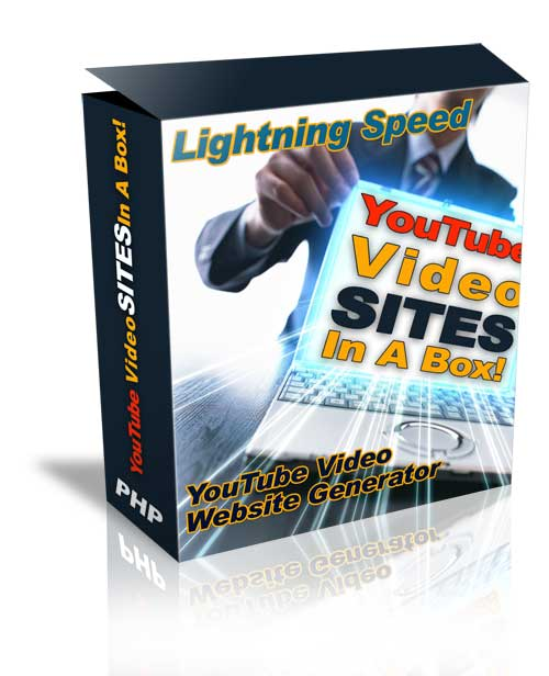 Product picture $$ YouTube Video Sites Generator! PRO Version (Unlimited Pages and Tags)