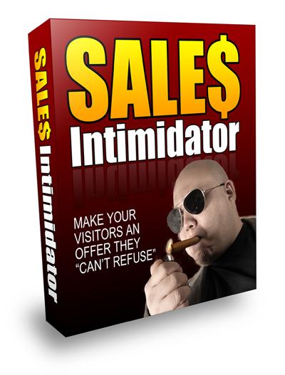 Product picture Sales Intimidator (PLR Version)