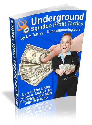 Product picture Underground Squidoo Profit Tactics! MRR Licence